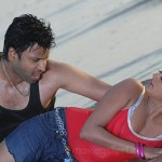 Priyamani Sumanth Hot in Beach @ Raaj Movie Wallpapers