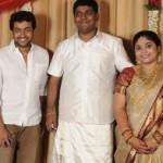 Suriya Karthi Jeeva @ Satheesh Anjali Engagement Stills