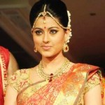 Actress Sneha Bridal Saree Ramp Walk Pics