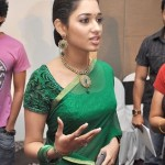 Tamannah Latest Cute Saree Stills