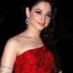 Tamanna in Red Dress Stills