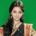 Vedika Cute Saree Photo Shoot Images