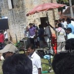 Velayudham Shooting in Pollachi Images