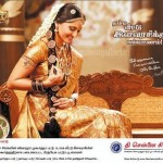 Anushka in Chennai Silks Ad Pictures