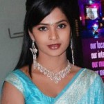 Madhumitha in Saree Stills