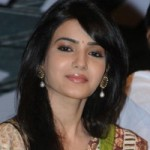 Samantha Cute Saree Pics