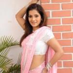 Telugu Actress Ruthika Hot Saree Pics