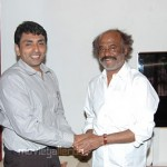 Rajinikanth Jinnah Thousand Lights DMK Candidate Meeting Stills