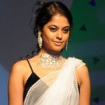 Bindu Madhavi Hot Saree Stills
