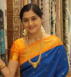 Devayani Silk Saree at Textile Showroom Inauguration Stills