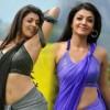 Kajal Agarwal Hot Stills in Veera Kajal Hot Saree Photos