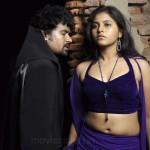 Anjali Kalanjiyam Hot Karungali Movie Stills