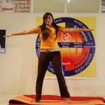 Namitha Doing Yoga @ Love College Movie Stills