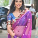 Nishanthi Evani Hot Saree Stills
