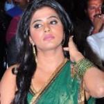 Priyamani Saree Stills in Kshetram Audio Launch