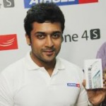 Actor Suriya at Aircel Iphone 4S Launch Event Stills