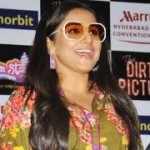 Vidya Balan @ Dirty Picture Hyderabad Promotion