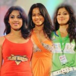 Actress Ramp Walk Stills @ CCL Calendar 2012 Launch