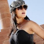 Anushka Hot in Black Dress
