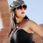 Anushka Hot in Black Dress
