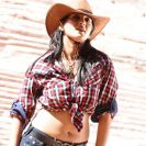 Ragada Anushka Hot Images Pictures in Cowboy Dress Jeans