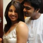 Osthi Richa Gangopadhyay with Simbu Pictures