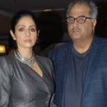 Actress Sridevi and Boney Kapoor New Pics
