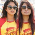 Actress @ CCL 2012 Chennai Rhinos Vs Kerala Strikers Match