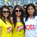 CCL 2 Chennai Rhinos VS Bengal Tigers Match Stills