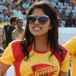 Amala Paul Cute Stills in CCL Match