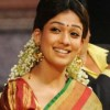 Nayanthara in Silk Saree Latest Stills @ Sriramarajyam 50 Days
