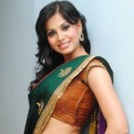 Supriya Shailja Hot Saree Stills