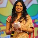 Udaya Bhanu in Saree Stills