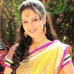 Pooja Bose Cute Saree Stills