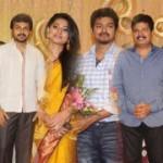 Anbalaya Prabhakaran Son Wedding Reception Stills