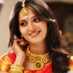 Anushka in Silk Saree Stills