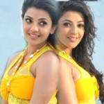 Kajal Hot Pics in Yellow Skirt