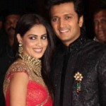 Genelia Wedding Reception Stills