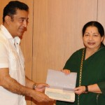Kamal meets CM Jayalalitha for Thane Relief Fund