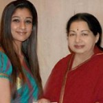 Nayanthara meets CM Jayalalitha for Thane Relief Fund