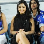 Nikesha Patel at CCL Match