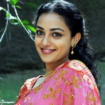 Nithya Menon Saree Stills