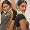 Mahathi in Saree Stills