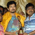 Actor Vijay at Madurai Thangaregal Theatre Stills