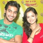 Aadi Shanvi at Radio Mirchi
