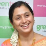 Actress Devayani at Green Trends Inauguration