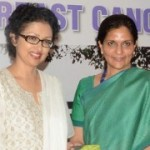 Gouthami releases Breast Cancer Awareness book