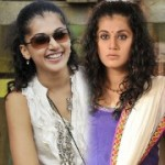Tapsee Cute Expressions Stills