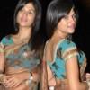 Shraddha Das Hot Transparent Saree Stills