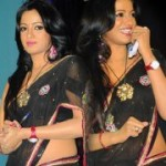 Udaya Bhanu Hot Saree Stills